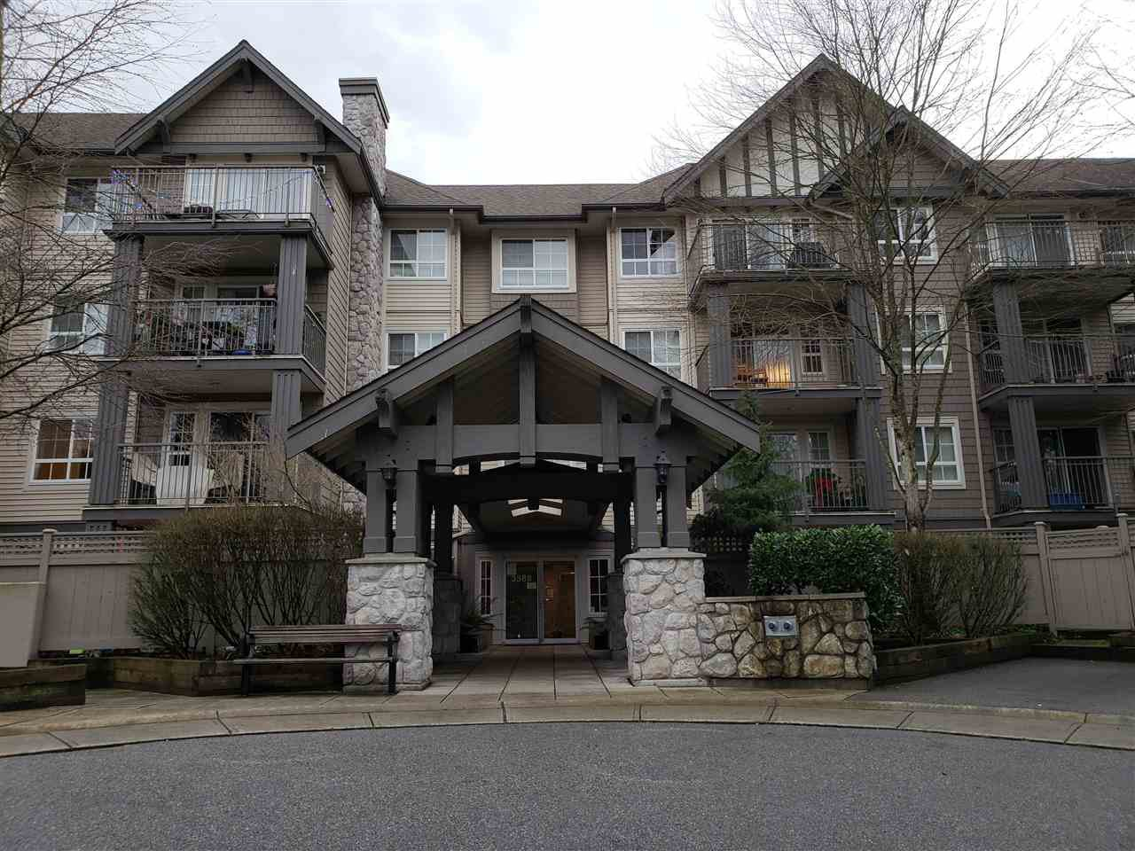 Main Photo: 315 3388 MORREY COURT in Burnaby: Sullivan Heights Condo for sale (Burnaby North)  : MLS®# R2426410
