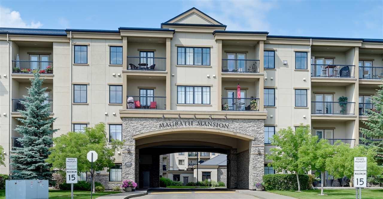 Main Photo: 215 160 MAGRATH Road NW in Edmonton: Zone 14 Condo for sale : MLS®# E4211518