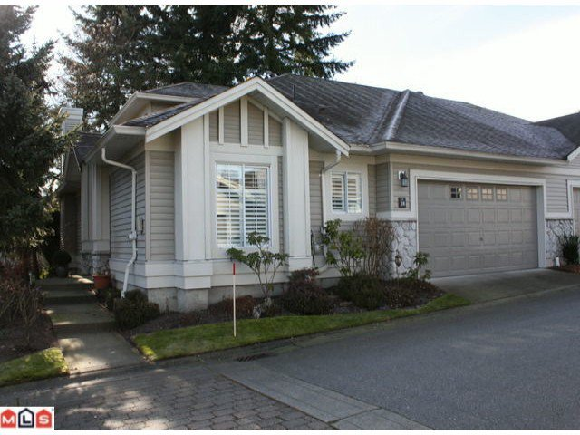 Main Photo: 38 16888 80TH Avenue in SURREY: Fleetwood Tynehead Townhouse  (Surrey)  : MLS®# F1102872