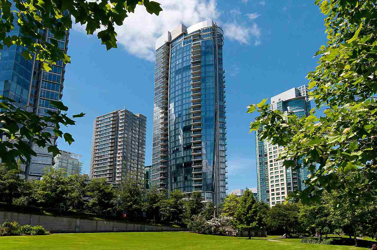 Main Photo: 2904 1281 W CORDOVA STREET in Vancouver: Coal Harbour Condo for sale (Vancouver West)  : MLS®# R2304552