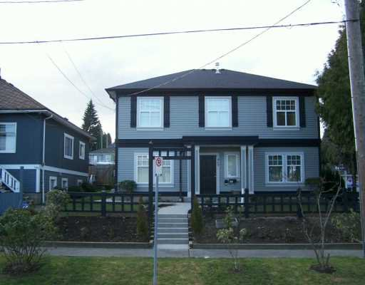 Main Photo: 469 ROUSSEAU ST in New Westminster: Sapperton House for sale : MLS®# V576603