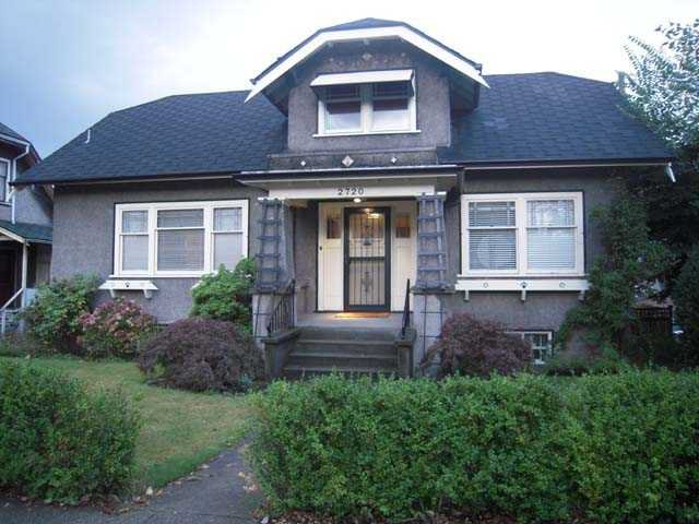 Main Photo: 2720 Fraser Street in Vancouver: Mount Pleasant VE House for sale (Vancouver East)  : MLS®# V912519