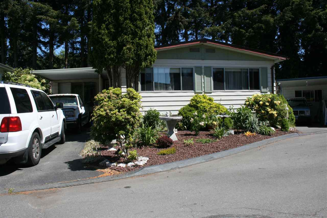 Main Photo: 296 1840 160 STREET in Surrey: King George Corridor Manufactured Home for sale (South Surrey White Rock)  : MLS®# R2068060