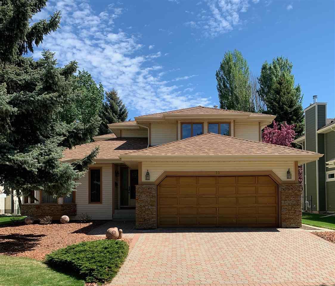 Main Photo: 15 FIELDSTONE Drive: Spruce Grove House for sale : MLS®# E4190368