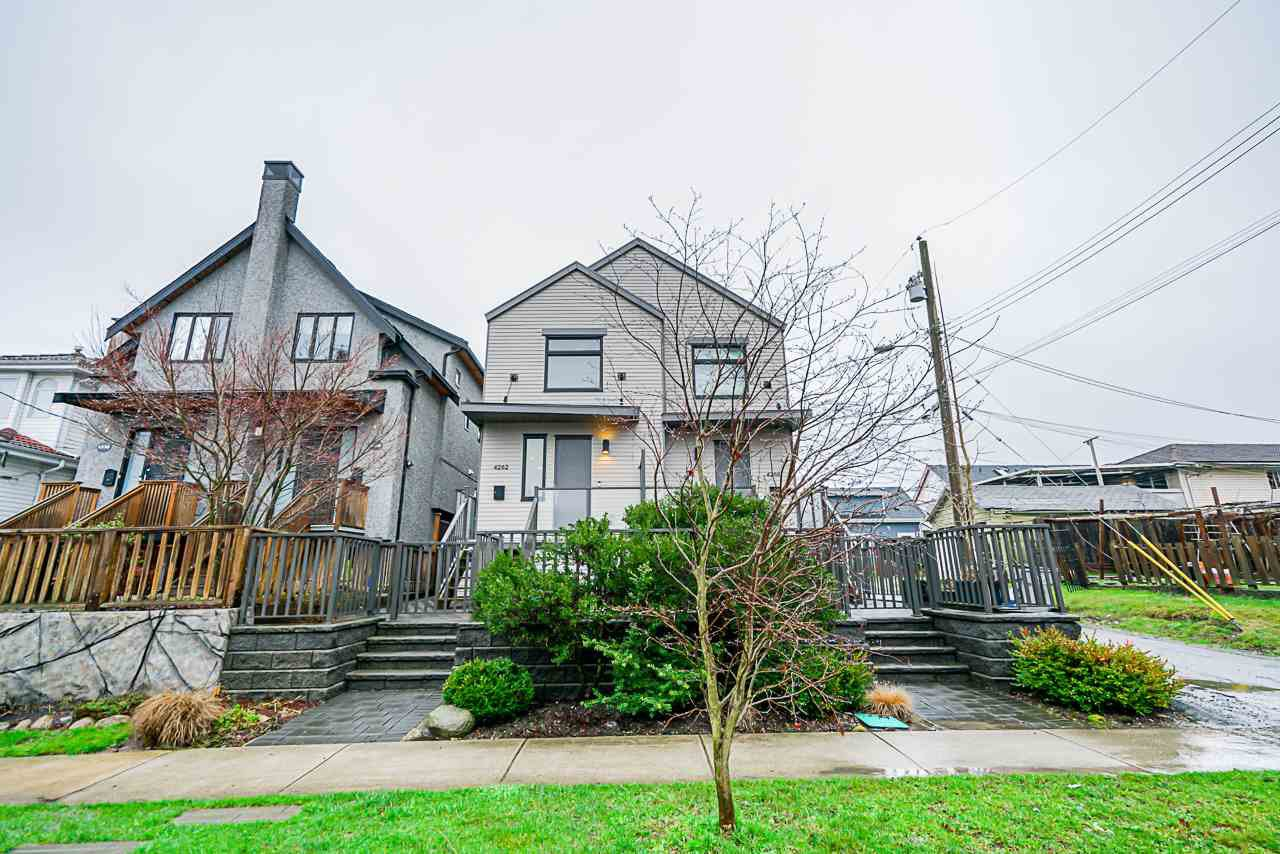 Main Photo: 4262 INVERNESS STREET in Vancouver: Knight House 1/2 Duplex for sale (Vancouver East)  : MLS®# R2452908