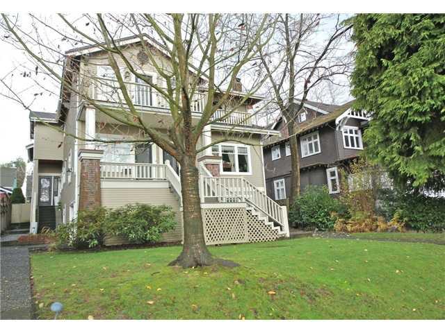 Main Photo: 2054 W 13TH AV in Vancouver: Kitsilano Condo for sale (Vancouver West)  : MLS®# V1037624