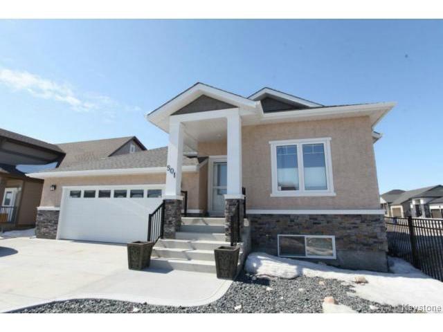 Main Photo: 501 Bridgeland Drive in WINNIPEG: Fort Garry / Whyte Ridge / St Norbert Single Family Detached for sale (South Winnipeg)  : MLS®# 1406788