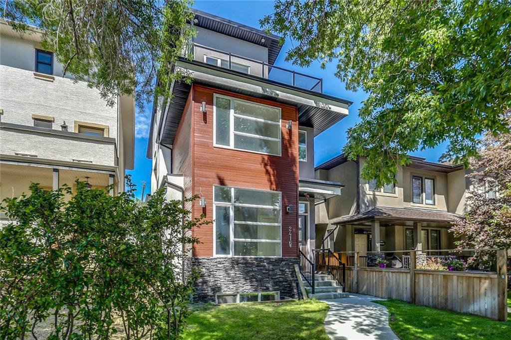 Main Photo: 2416A 7 Avenue NW in Calgary: West Hillhurst House for sale : MLS®# C4194305