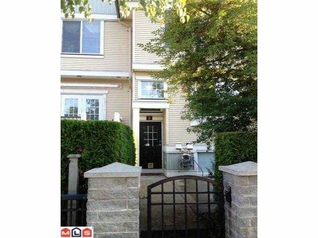 "Main Photo: 2 8383 159TH Street in Surrey: Fleetwood Tynehead Townhouse for sale in ""AVALON WOOD"" : MLS®# F1220258"