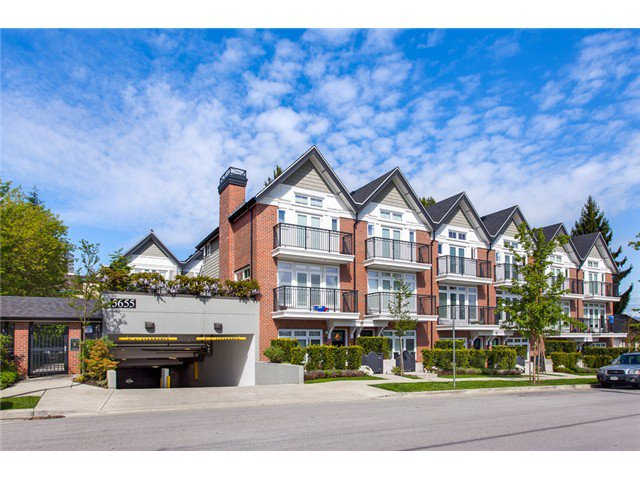 Main Photo: 5655 Chaffey Av in Burnaby South: Central Park BS Townhouse for sale : MLS®# V1063980