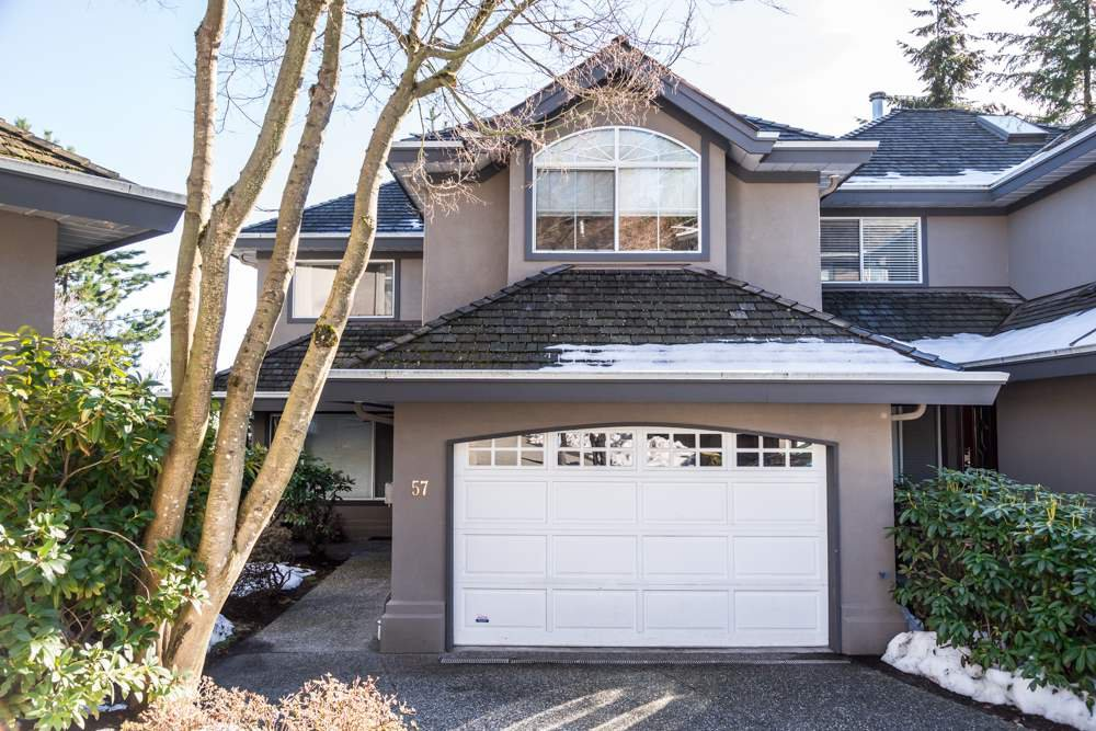 Main Photo: 57 2990 Panorama Drive in Coquitlam: Westwood Plateau Townhouse for sale : MLS®# R2138688