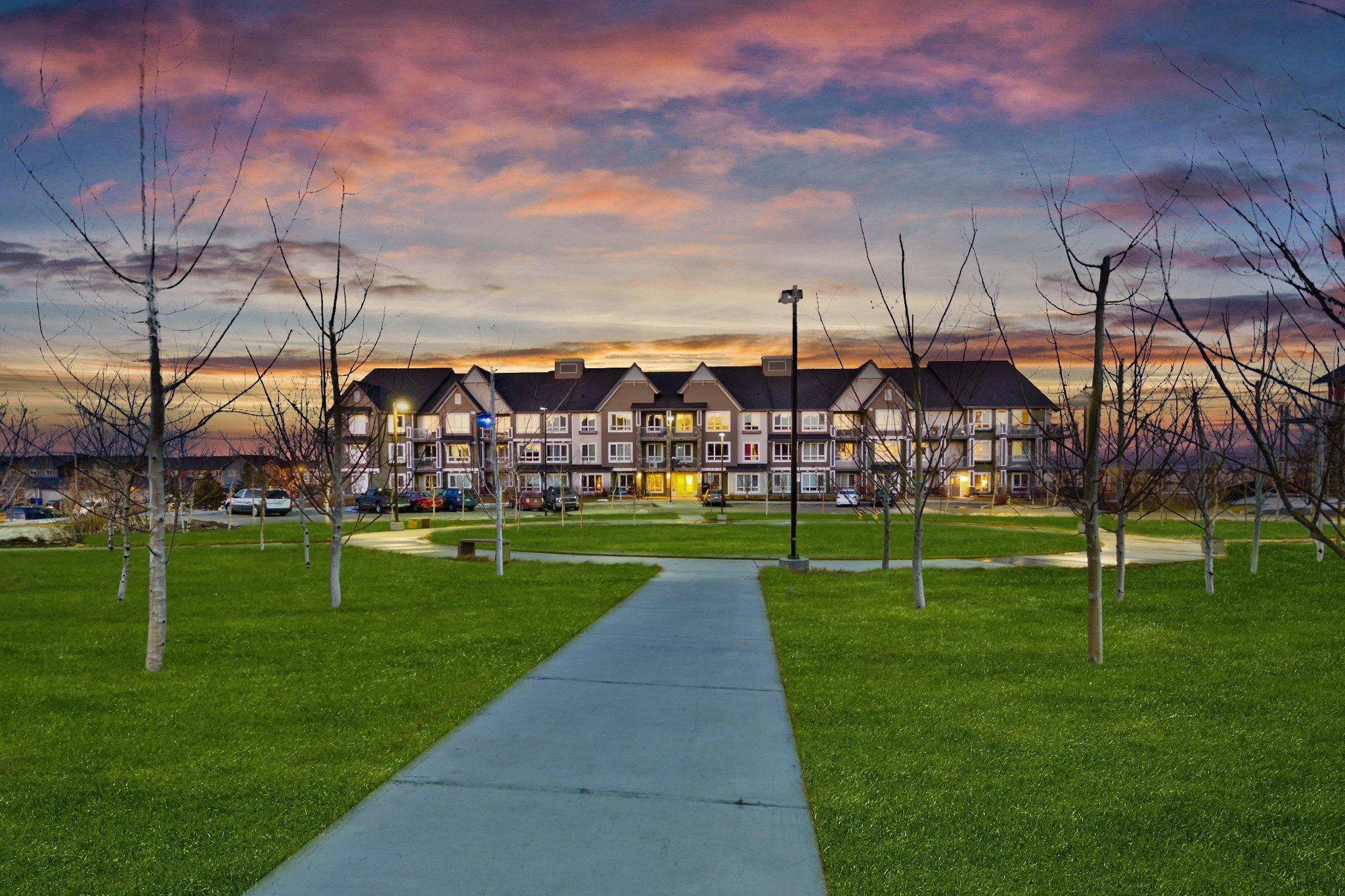 Main Photo: #1110 175 SILVERADO BV SW in Calgary: Silverado Condo for sale : MLS®# C4249538
