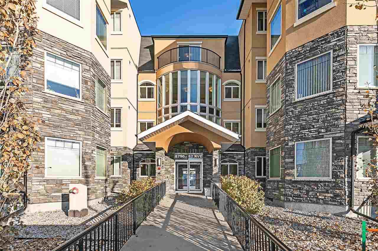 Main Photo: 404 8730 82 Avenue in Edmonton: Zone 18 Condo for sale : MLS®# E4178687