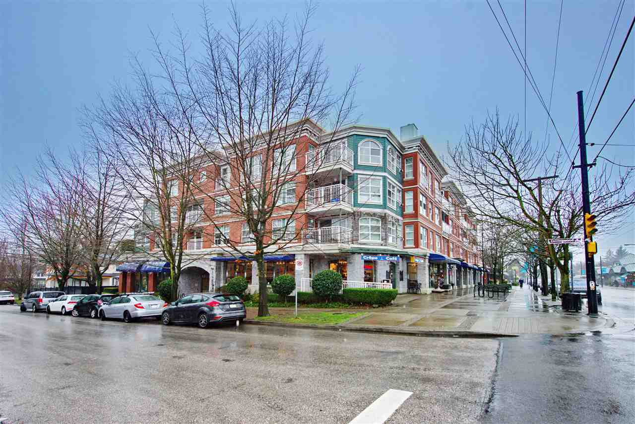 """Main Photo: 313 5723 COLLINGWOOD Street in Vancouver: Southlands Condo for sale in """"Chelsea at Southlands"""" (Vancouver West)  : MLS®# R2427403"""