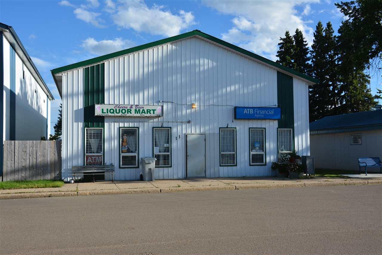 Main Photo: 11 Main Street: Hay Lakes Retail for sale : MLS®# E4189889