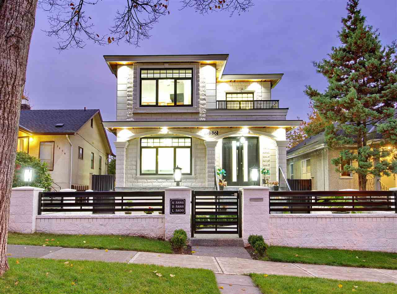Main Photo: 5886 SHERBROOKE Street in Vancouver: South Vancouver House for sale (Vancouver East)  : MLS®# R2490210