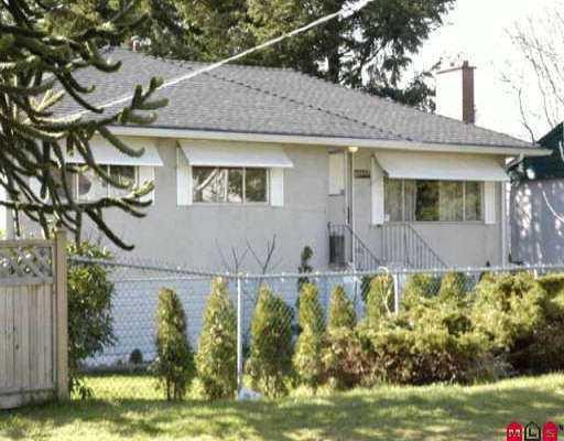 Main Photo: 10239 SEMIAHMOO RD in Surrey: Cedar Hills House for sale (North Surrey)  : MLS®# F2605956