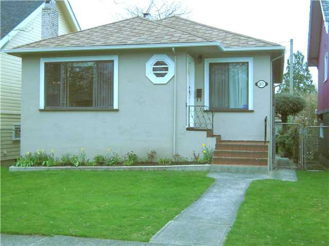 Main Photo: 2871 KITCHENER Street in Vancouver: Renfrew VE House for sale (Vancouver East)  : MLS®# V942070