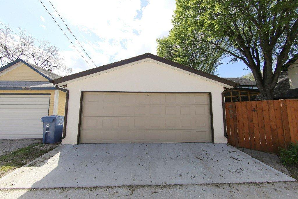 Photo 27: Photos: 481 Raglan Road in Winnipeg: WOLSELEY Single Family Detached for sale (West Winnipeg)  : MLS®# 1515021