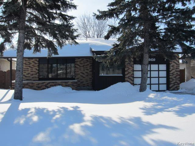 Main Photo: 6420 Roblin Blvd in Winnipeg: Single Family Detached for sale (Charleswood)  : MLS®# 1301961