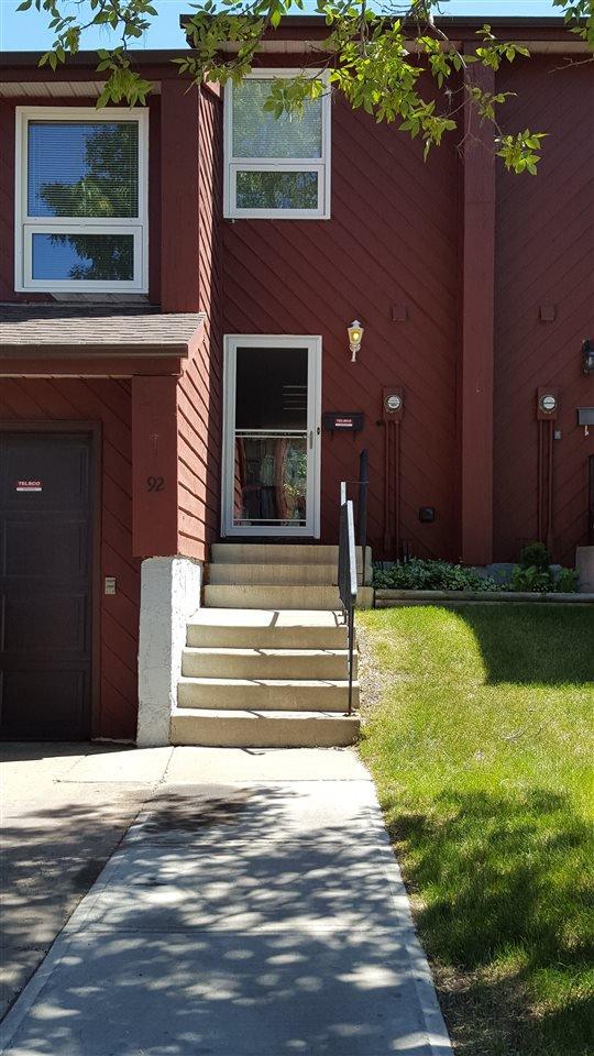 Main Photo: 92 Lorelei CL NW in Edmonton: Zone 27 Townhouse for sale : MLS®# E4027246