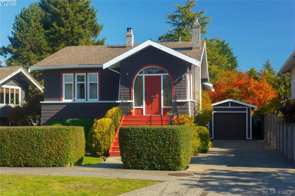 Main Photo: 935 Cowichan St in VICTORIA: Vi Fairfield East Single Family Detached for sale (Victoria)  : MLS®# 827134