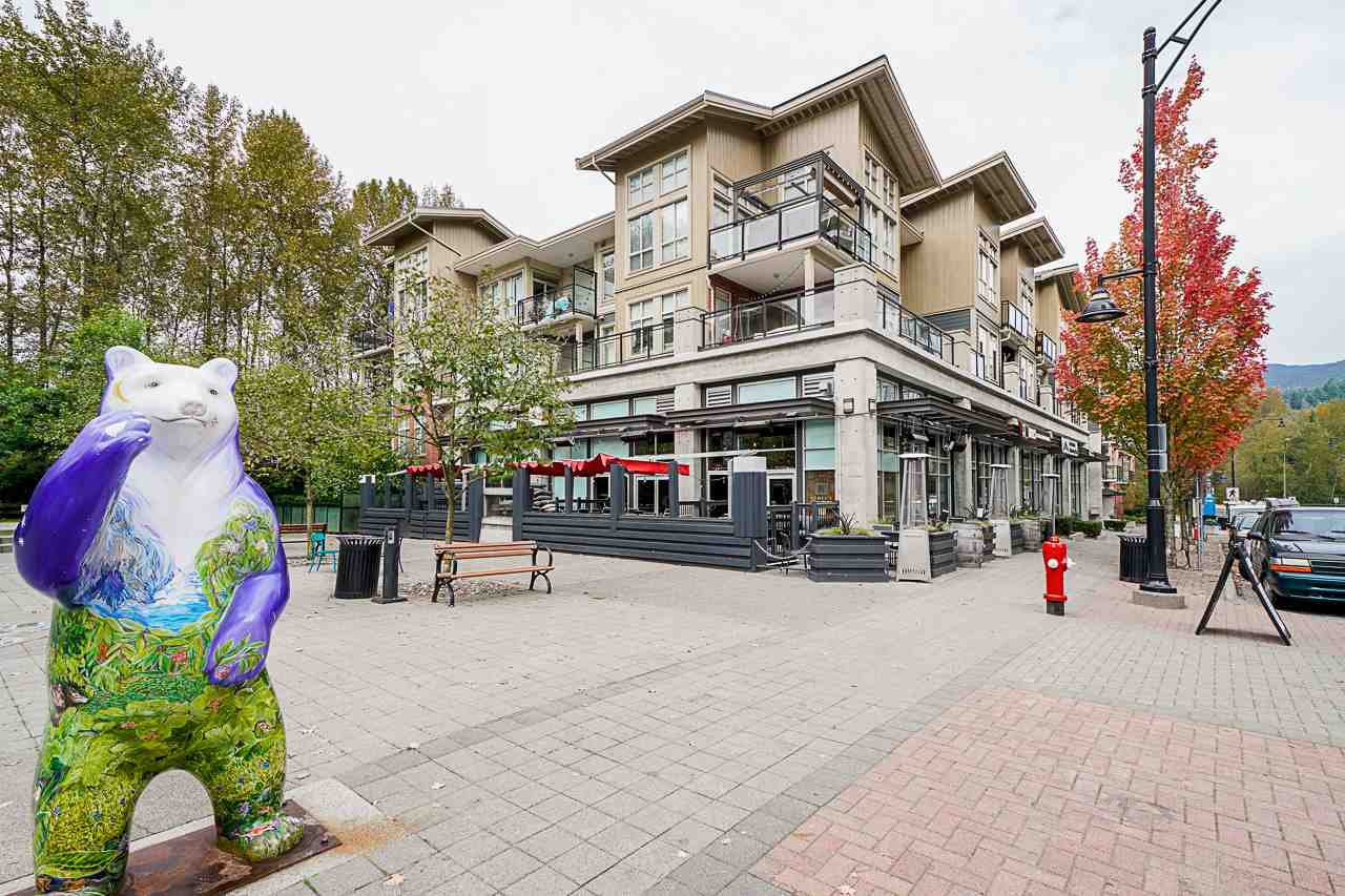 Main Photo: 111 101 MORRISSEY ROAD in Port Moody: Port Moody Centre Condo for sale : MLS®# R2410630