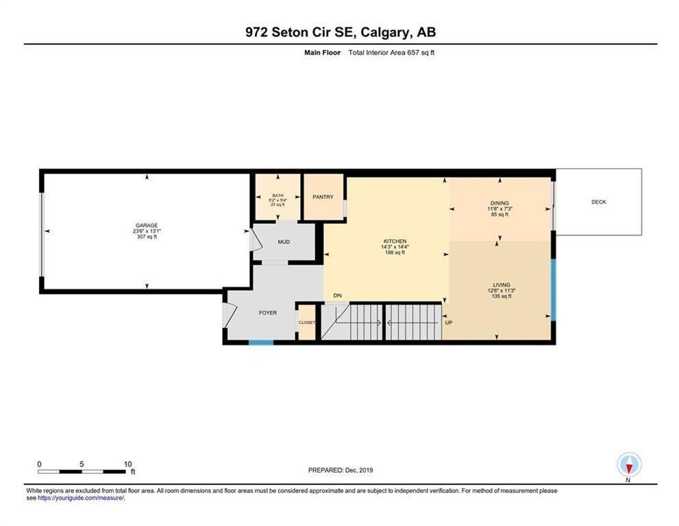 Main Photo: 972 SETON Circle SE in Calgary: Seton Semi Detached for sale : MLS®# C4279509