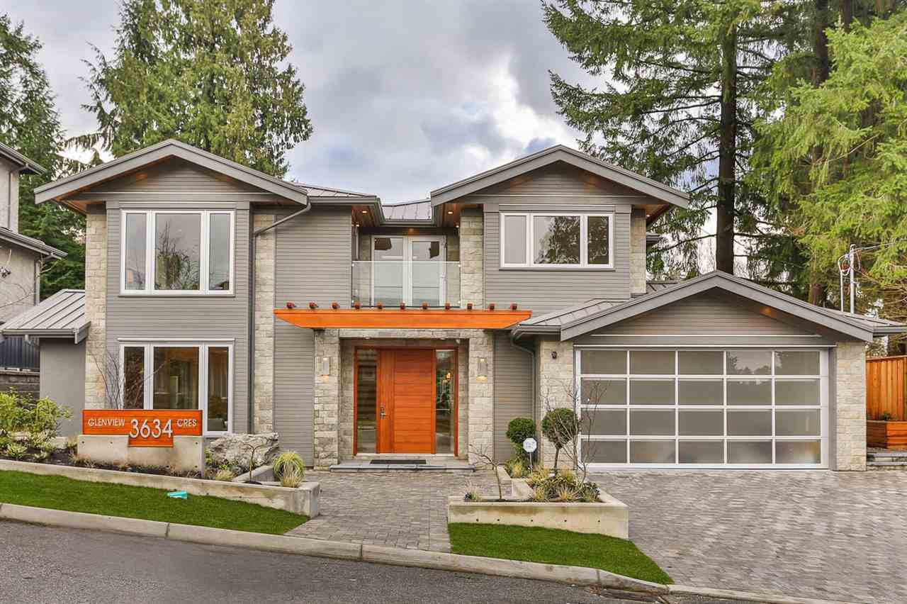 Main Photo: 3634 GLENVIEW CRESCENT in North Vancouver: Edgemont House for sale : MLS®# R2045019