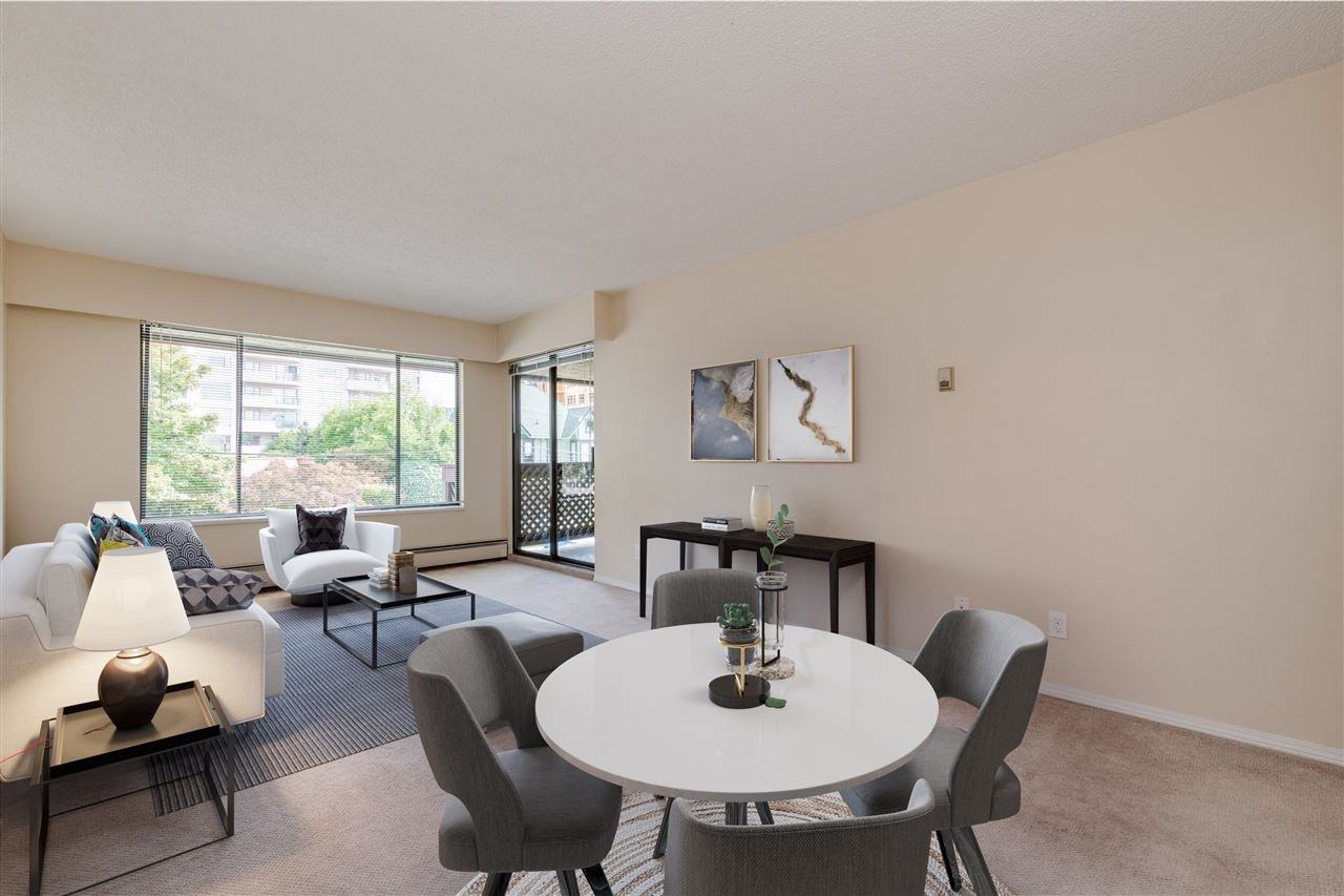 """Main Photo: 312 436 SEVENTH Street in New Westminster: Uptown NW Condo for sale in """"Regency Court"""" : MLS®# R2399595"""