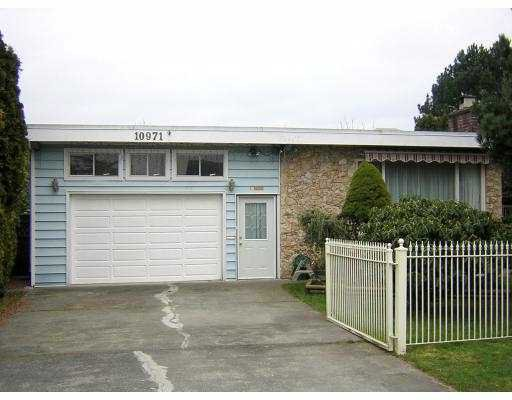 """Main Photo: 10971 DENNIS CR in Richmond: McNair House for sale in """"MCNAIR"""" : MLS®# V575863"""