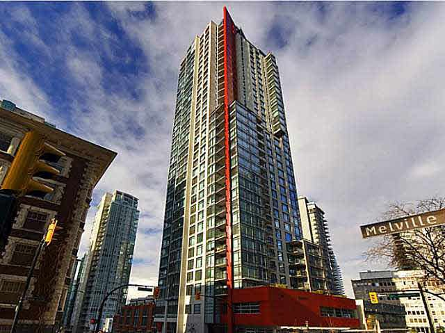 Main Photo: 1803 1211 MELVILLE STREET in VANCOUVER: Coal Harbour Condo for sale (Vancouver West)