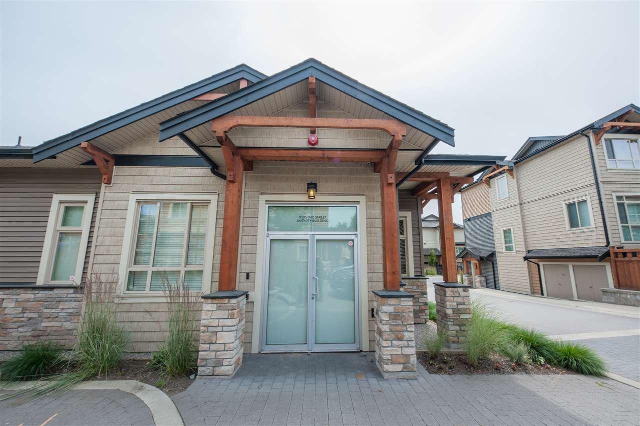 Main Photo: 136 11305 240 Street in Maple Ridge: Cottonwood MR Townhouse for sale : MLS®# R2389210