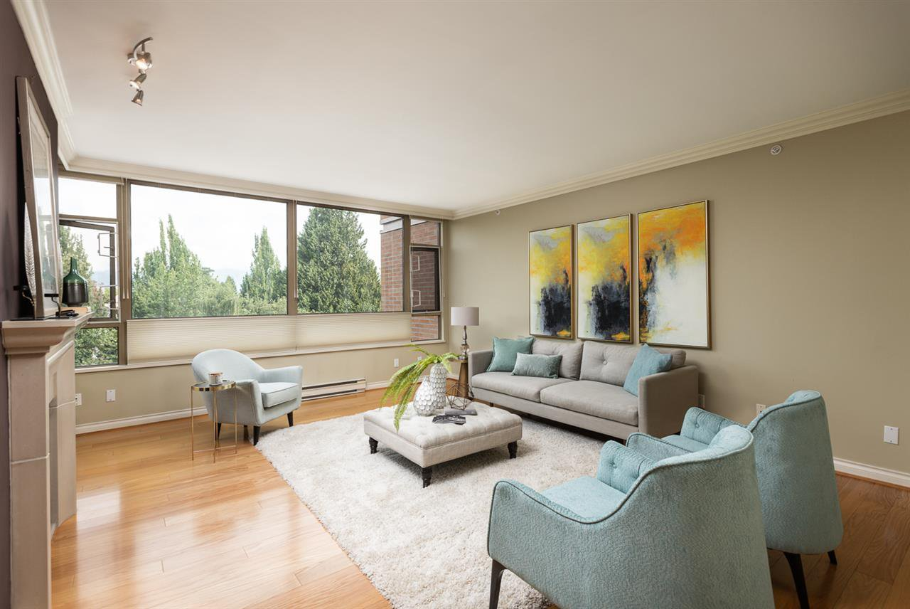 """Main Photo: 401 2580 TOLMIE Street in Vancouver: Point Grey Condo for sale in """"Point Grey Place"""" (Vancouver West)  : MLS®# R2397003"""