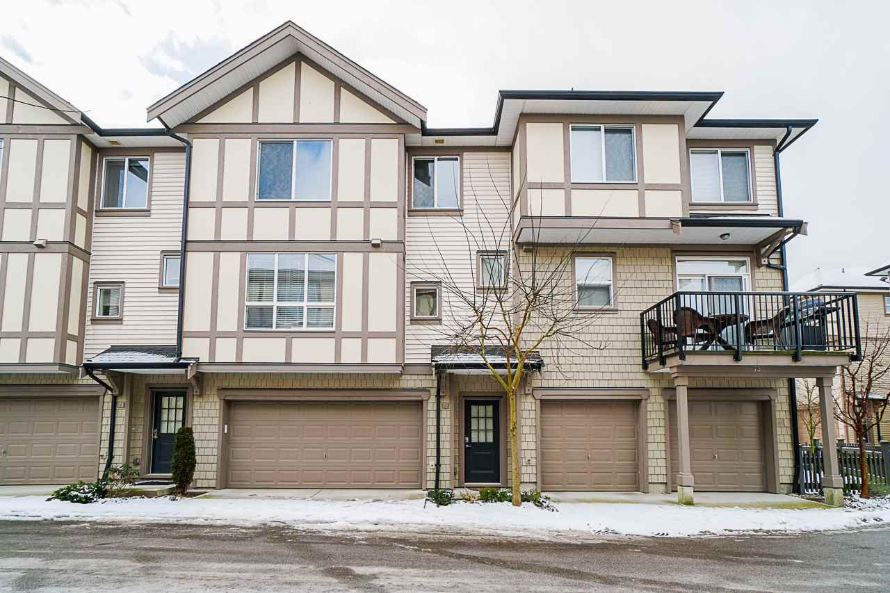 "Main Photo: 72 7848 209 Street in Langley: Willoughby Heights Townhouse for sale in ""Mason & Green"" : MLS®# R2423766"