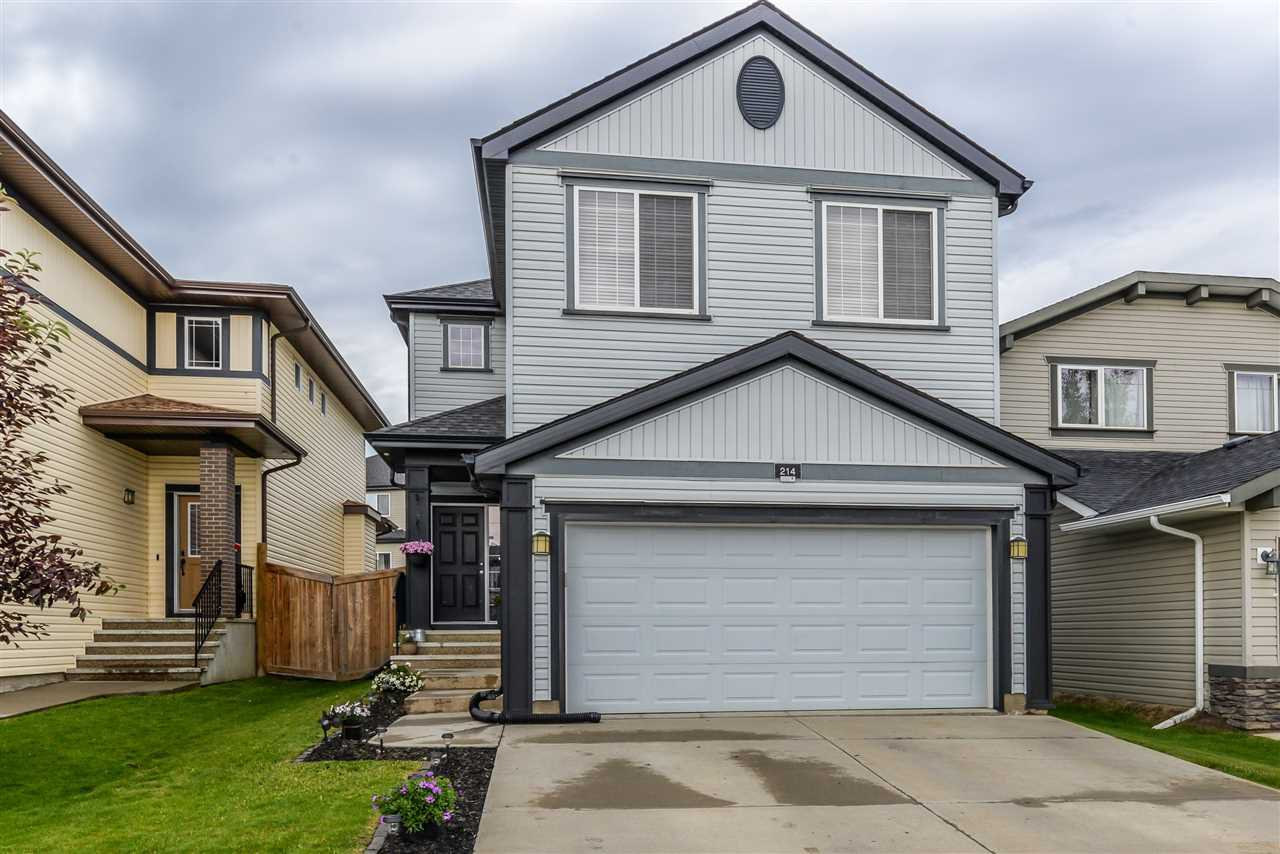 Main Photo: 214 SECORD Drive in Edmonton: Zone 58 House for sale : MLS®# E4205273