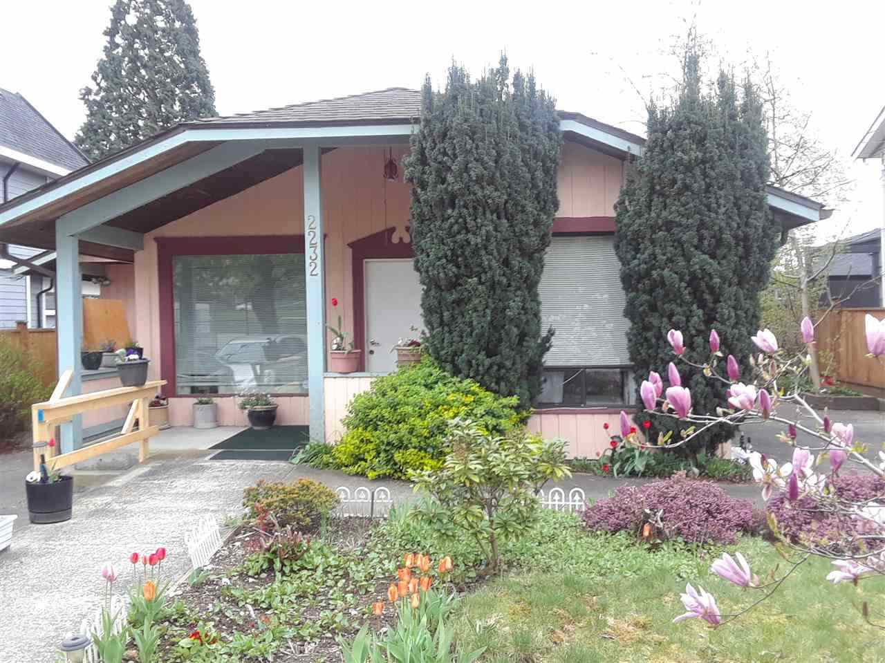 Main Photo: 2232 LONDON Street in New Westminster: Connaught Heights House for sale : MLS®# R2487494