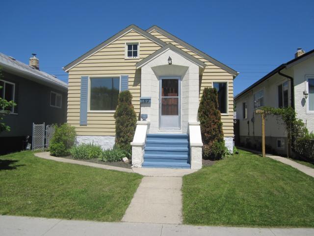 Main Photo: 189 Harbison Avenue in Winnipeg: Residential for sale : MLS®# 1110541
