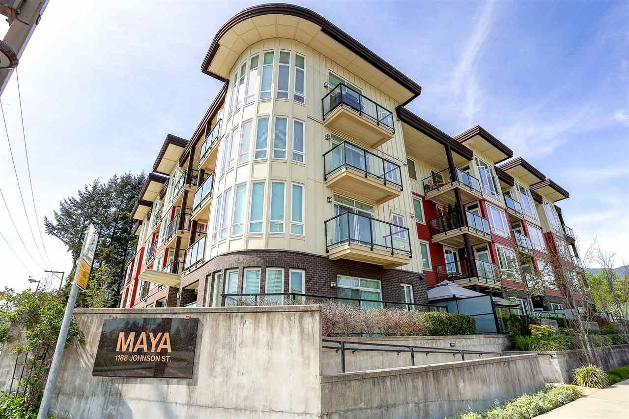 Main Photo: 210 1188 JOHNSON STREET in Coquitlam: Eagle Ridge CQ Condo for sale : MLS®# R2059907