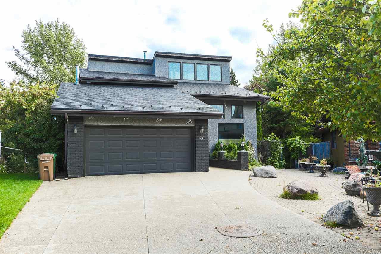 Main Photo: 48 GOODRIDGE Drive: St. Albert House for sale : MLS®# E4173713