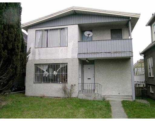Main Photo: 1121 1123 E 12TH AV in Vancouver: Mount Pleasant VE House Duplex for sale (Vancouver East)  : MLS®# V575510