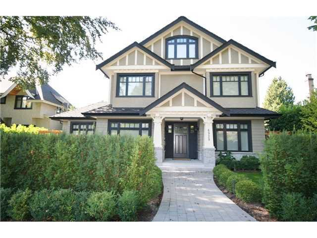 Main Photo: 6929 WILTSHIRE Street in Vancouver: South Granville House for sale (Vancouver West)  : MLS®# V1007827