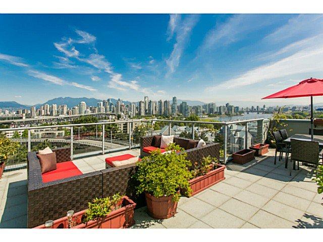 Main Photo: # 605 1425 W 6TH AV in Vancouver: False Creek Condo for sale (Vancouver West)  : MLS®# V1123707