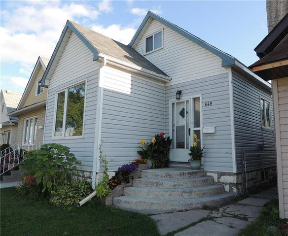 Main Photo: 649 Bannerman Avenue in Winnipeg: Residential for sale (4C)  : MLS®# 1922640