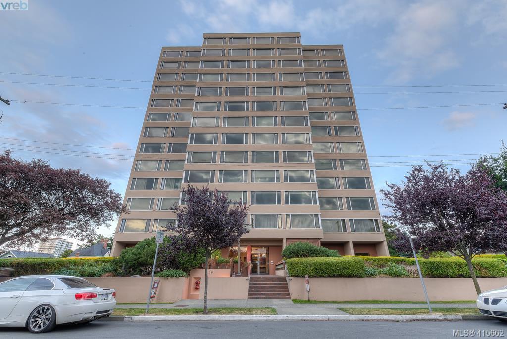Main Photo: 303 139 Clarence Street in VICTORIA: Vi James Bay Condo Apartment for sale (Victoria)  : MLS®# 415662