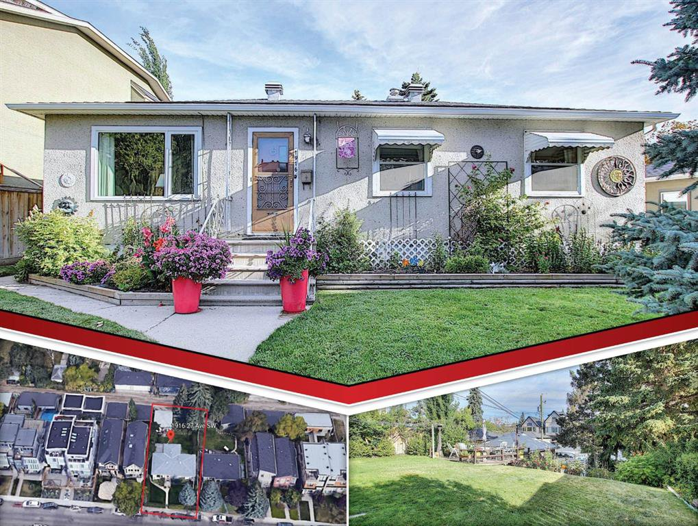 Main Photo: 1916 27 Avenue SW in Calgary: South Calgary Detached for sale : MLS®# A1029146