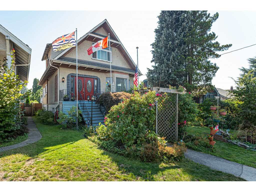 Main Photo: 1024 EIGHTH Avenue in New Westminster: Moody Park House for sale : MLS®# R2494915