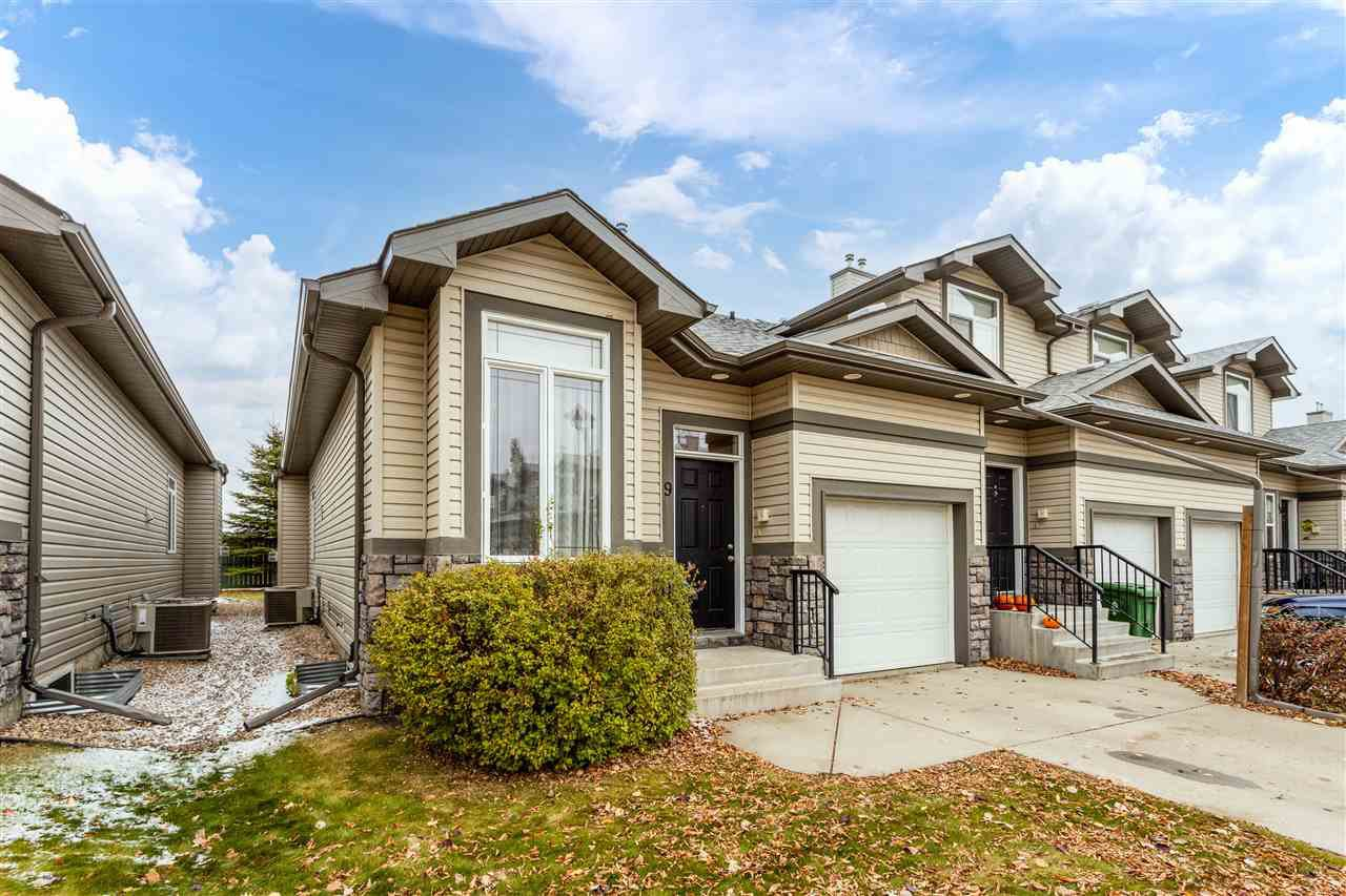 Main Photo: 9 10 WOODCREST Lane: Fort Saskatchewan House Half Duplex for sale : MLS®# E4218756