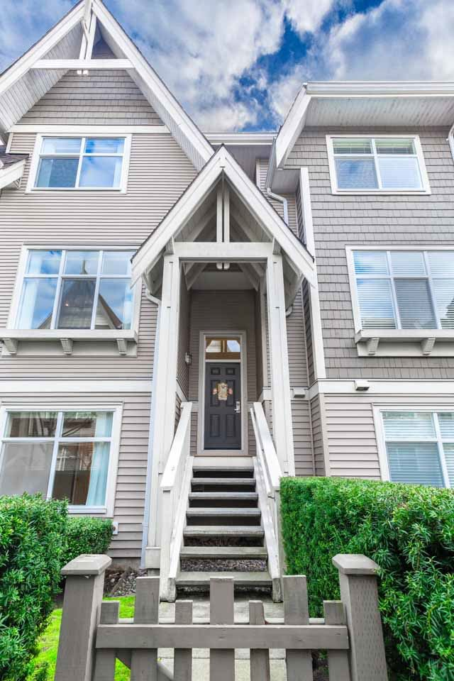 Main Photo: 46 7288 HEATHER Street in Richmond: McLennan North Townhouse for sale : MLS®# R2528607