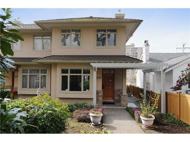 Main Photo: 2376 MARINE DR in West Vancouver: Dundarave House 1/2 Duplex for sale : MLS®# V979471
